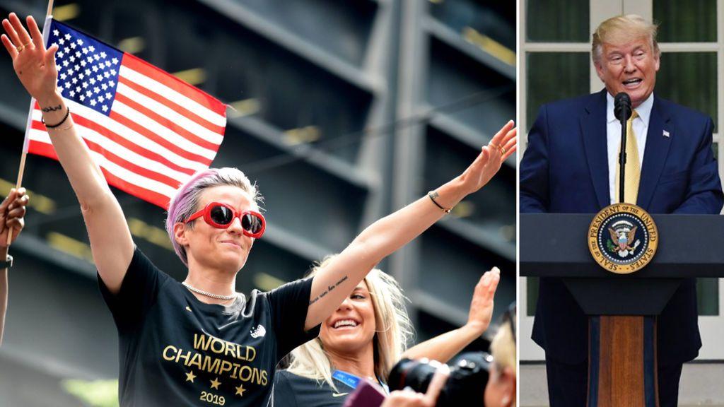 Megan Rapinoe sería presidenta de EEUU: La futbolista estadounidense supera a Trump en las encuestas