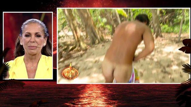 Supervivientes 2019 Omar Se Desnuda Tras Recuperar Su Colorido