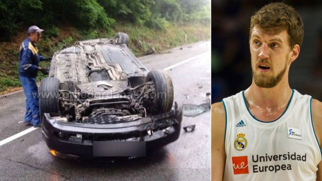 Ognjen Kuzmic, ex del Real Madrid de Baloncesto, hospitalizado tras sufrir un grave accidente de tráfico