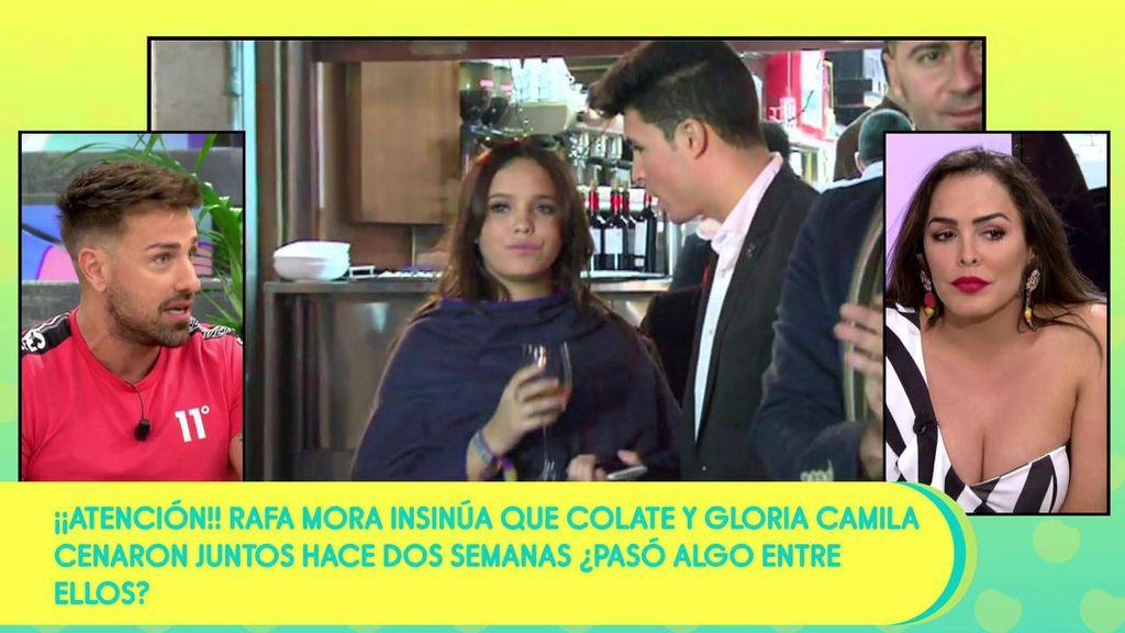 """Rafa Mora duda de la lealtad de Gloria Camila Ortega a Kiko Jiménez: """"A Colate se le cae la baba con Gloria"""""""