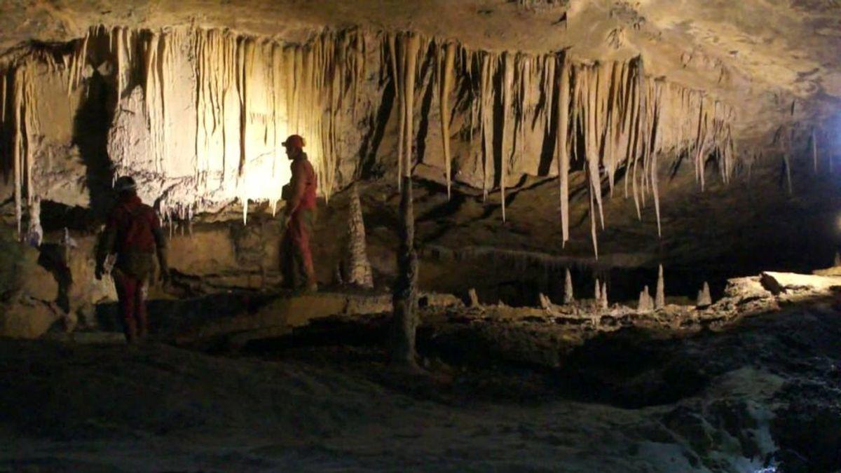 Tres espeleólogas desaparecen en una cueva de Cantabria