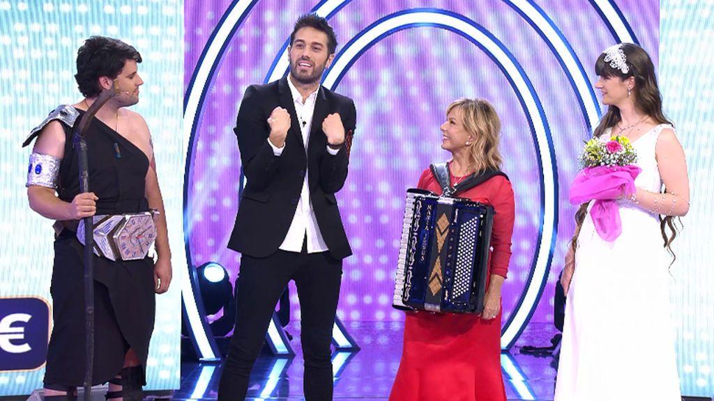 ¡Dani Martínez y Mª Jesús y su acordeón se siguen en Instagram!