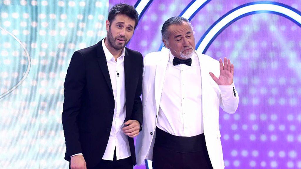 Duelo de 'Robert de Niros' entre Dani Martínez y el doble oficial del actor en España