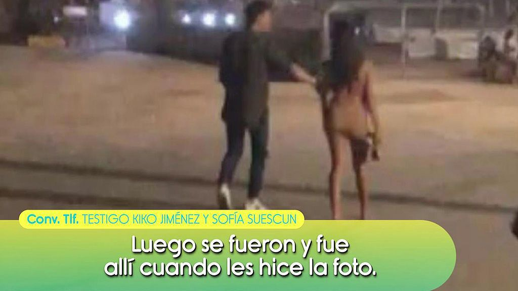 Primeras imágenes de Kiko con Sofía Suescun tras su ruptura con Gloria Camila