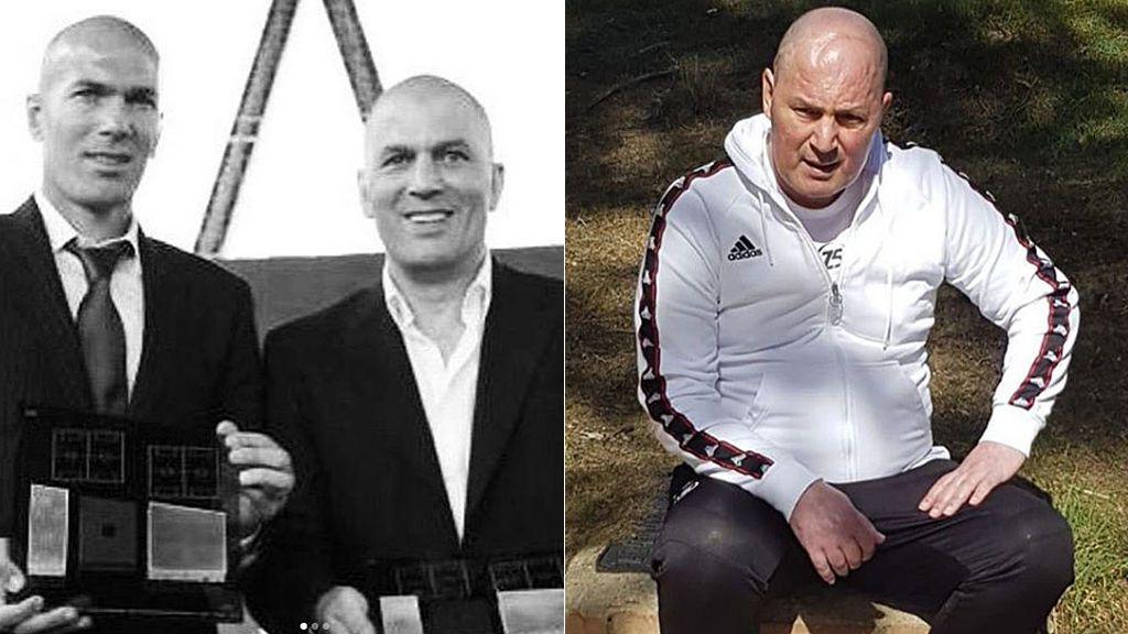 """Zidane se despide de su hermano con un emotivo mensaje: """"Para siempre en mi corazón"""""""