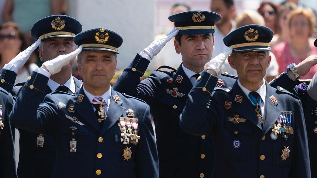 Teodoro García Egea es reservista del Ejercito del Aire