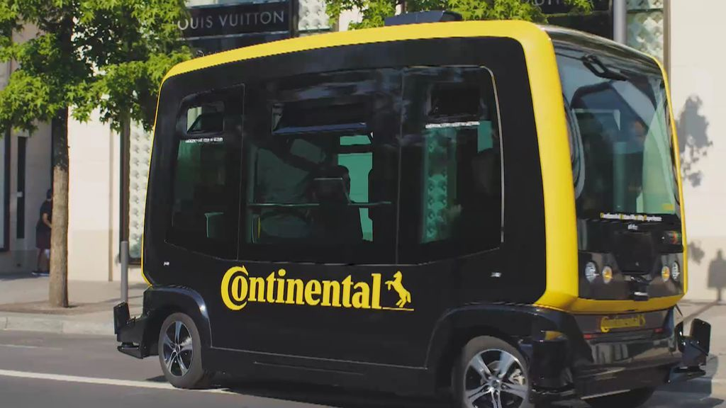 Continental lanza Cube, el prototipo de movilidad del futuro