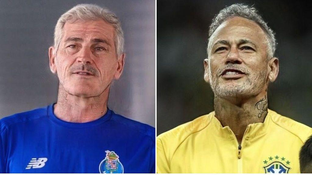 Casillas, Messi o Neymar: el aspecto de los futbolistas de mayores con el filtro de moda