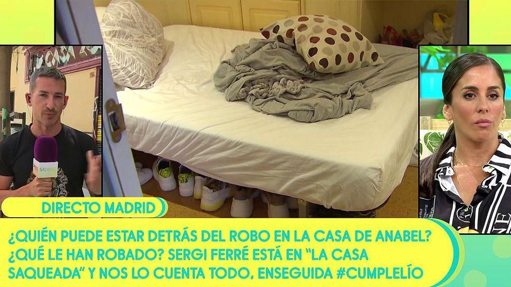 Anabel Pantoja ha sufrido un robo en su casa
