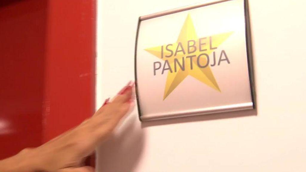 El camerino de Isabel Pantoja, en exclusiva