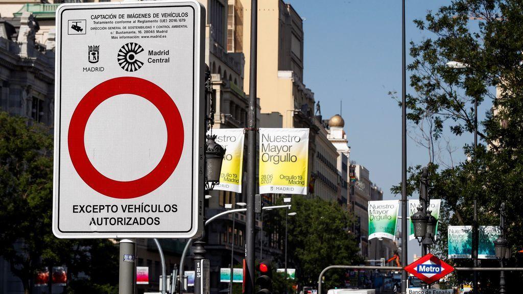 El juez mantiene Madrid central y le recuerda a Almeida que el medio ambiente y la salud priman