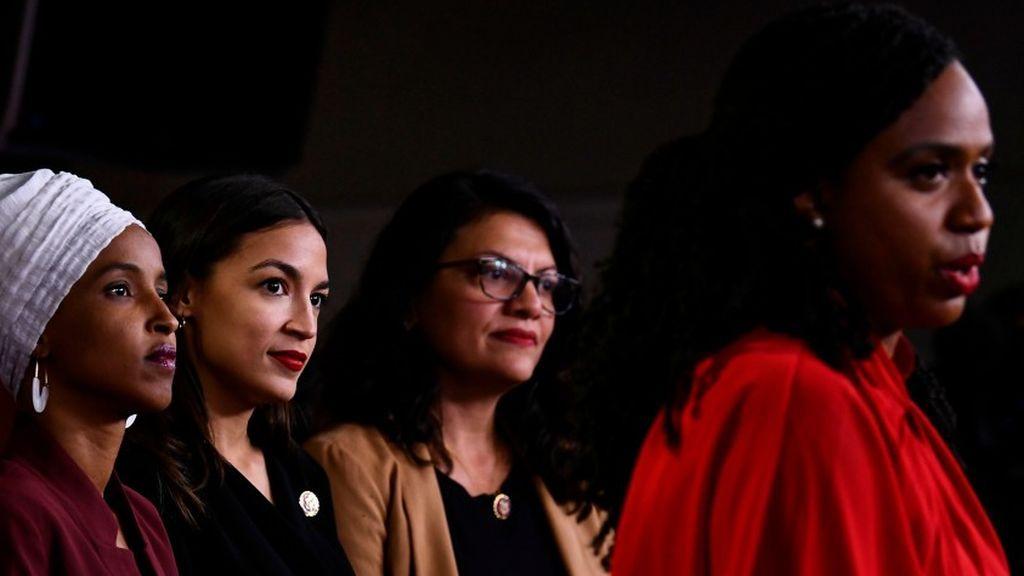 """Las Congresistas Demócratas piden el """"Impeachment"""" a Trump por sus comentarios racistas"""