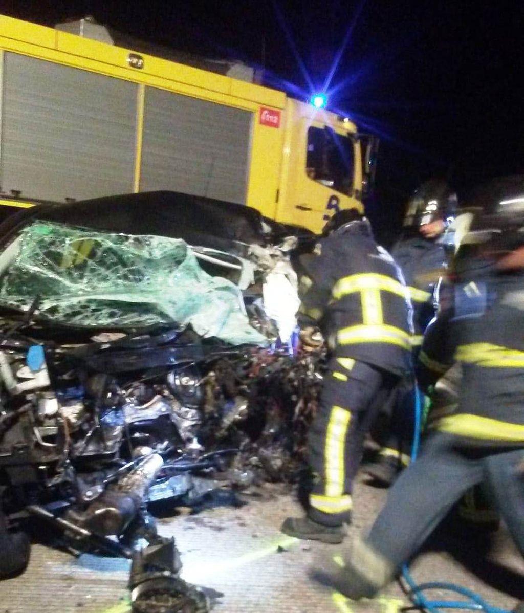 Un kamikaze provoca un accidente con un muerto y 5 heridos