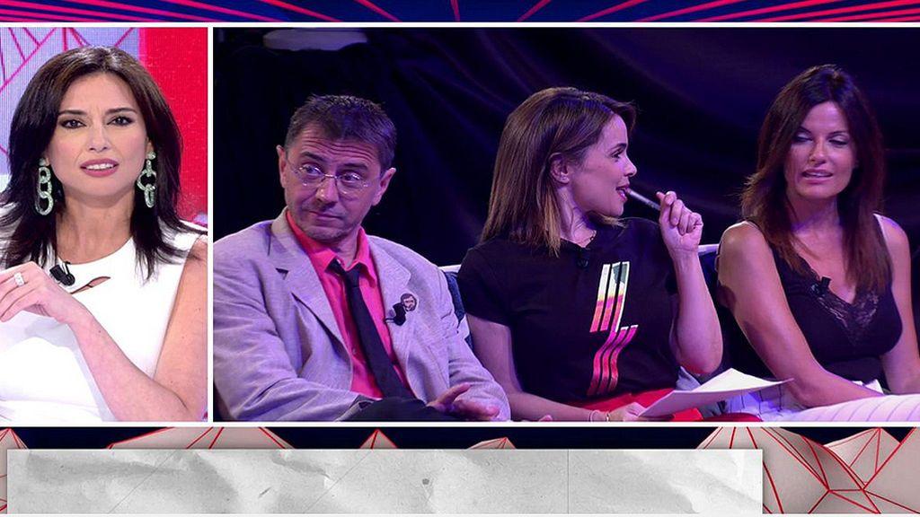 Marta Flich y Cristina Seguí se ven las caras en directo tras su encontronazo en el lavabo