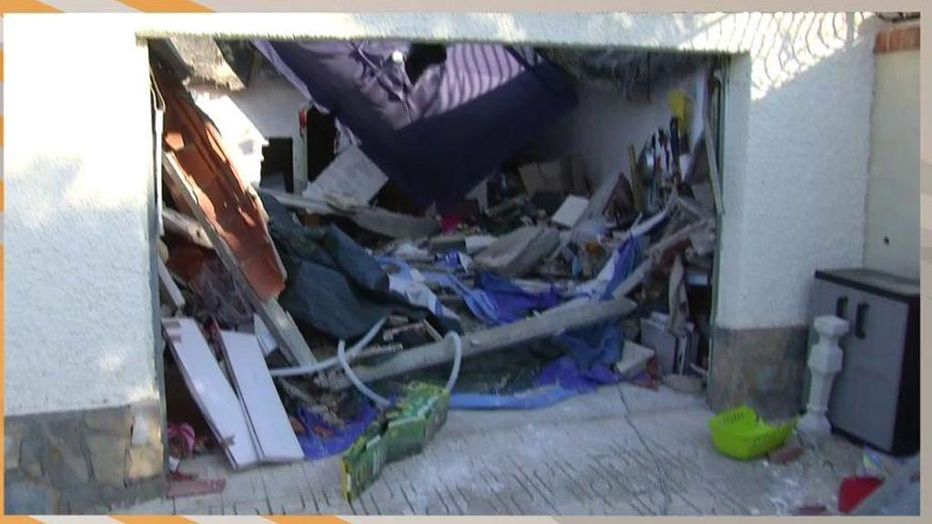 Casa de conocido calvo de Montemayor se derrumba