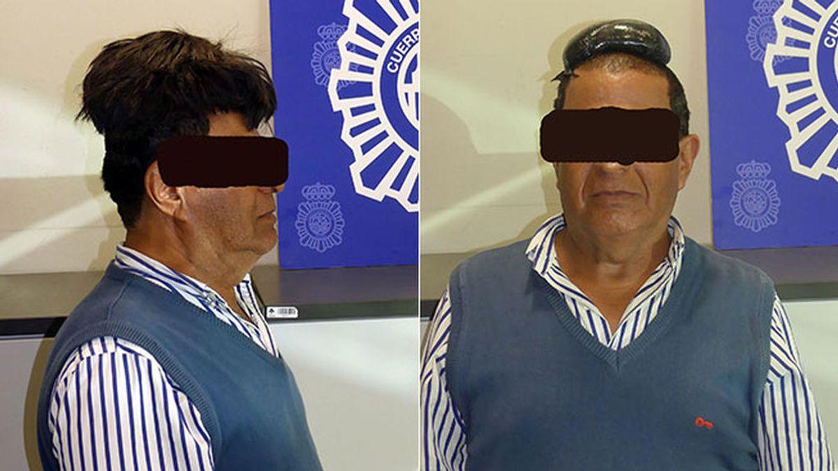 La policía detiene en el aeropuerto de Barcelona a un 'mulero' con medio kilo de coca oculto bajo un peluquín
