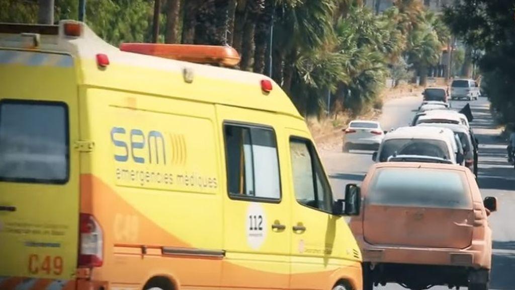 Una ambulancia de la Generalitat termina en un desfile yihadista en Siria