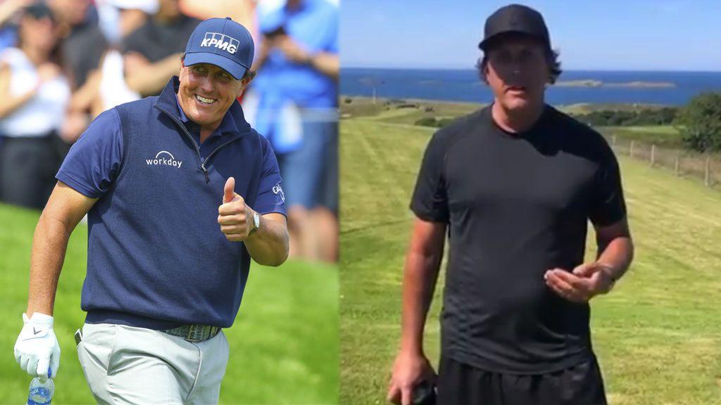 """La dieta milagrosa de Phil Mickelson para volver a la élite del golf: """"Estoy dispuesto a hacer lo que sea para intentar recuperar mi mejor versión"""""""
