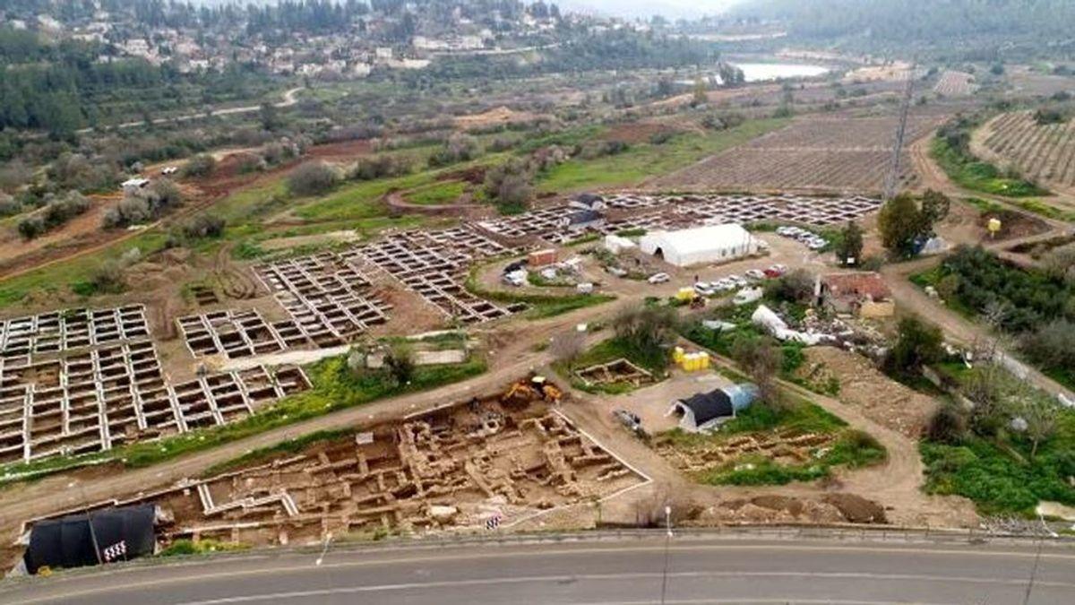 Arqueólogos desentierran una 'ciudad' prehistórica de 9.000 años cerca de Jerusalén
