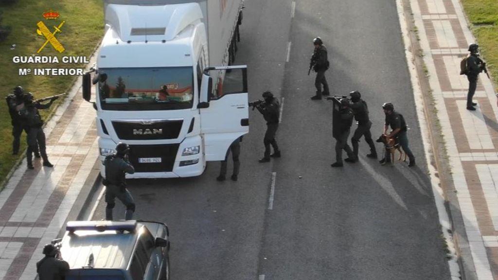 Un camión como centro operativo yihadista