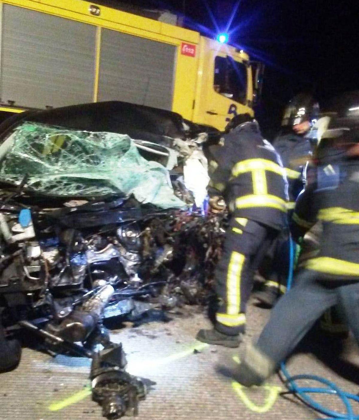 Un kamikaze provoca un accidente con un muerto y 5 heridos tras sembrar el pánico en la A-8 en Asturias