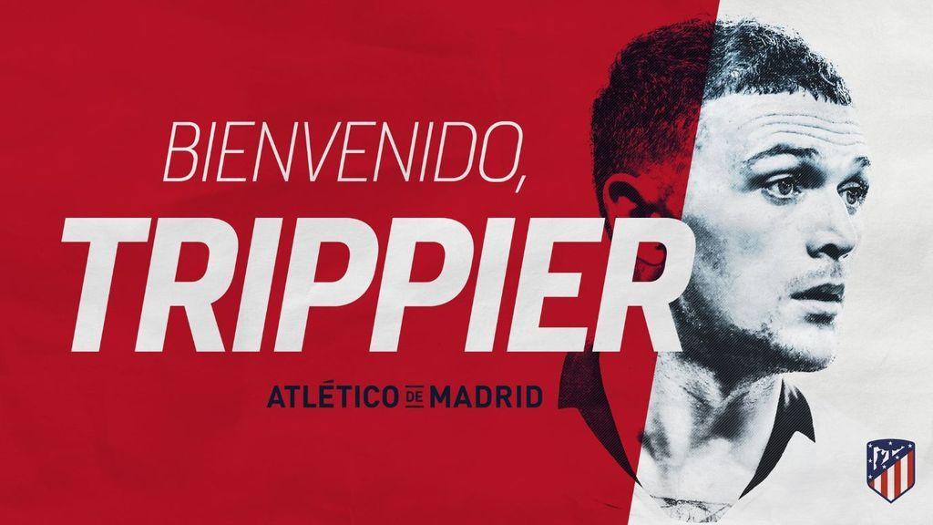 El Atlético de Madrid hace oficial el fichaje de Kieran Trippier