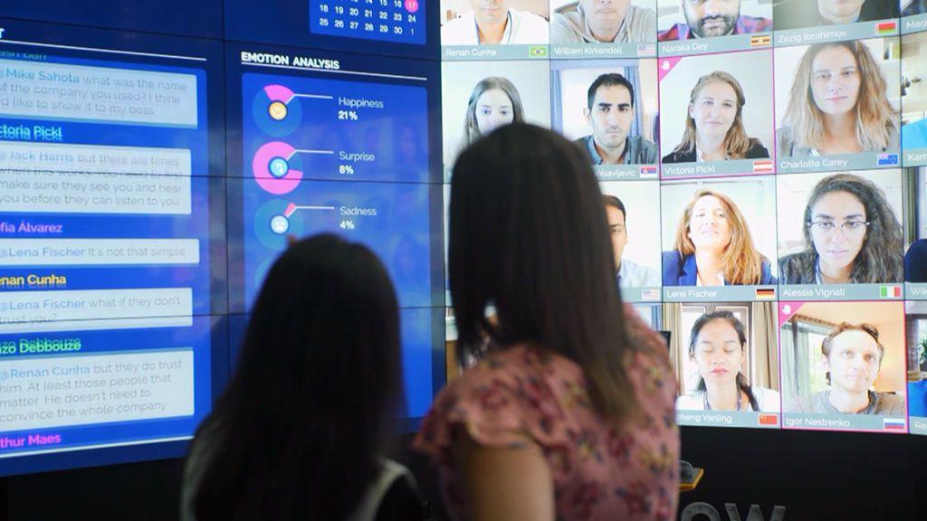 Los futuros magnates chinos estudian en España con la tecnología más puntera