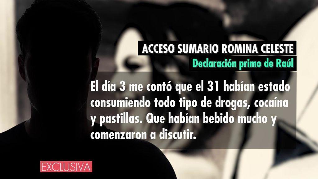 La declaración del primo de Raúl, presunto asesino de Romina