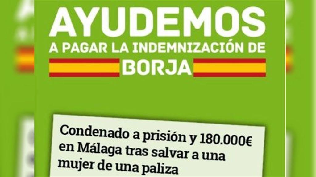 Borja acepta finalmente los 110.000 euros que Vox ha recaudado para hacer frente a la indemnización