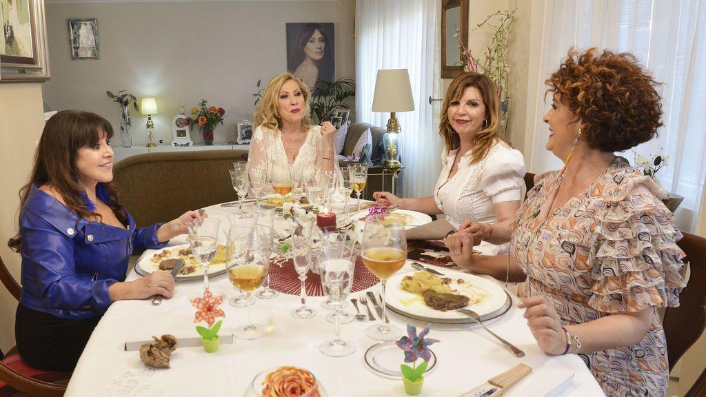 El estreno en Telecinco de 'Ven a cenar conmigo: gourmet edition', líder absoluto con más de 5 puntos de ventaja sobre Antena 3