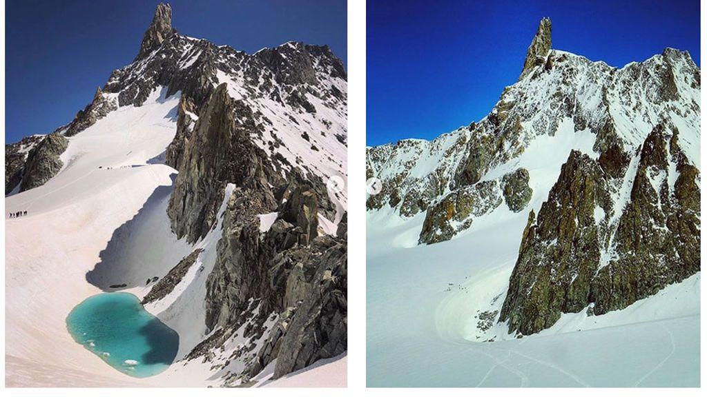 Los efectos de diez días de calor extremo en los Alpes a 3.000 metros de altura: para temblar