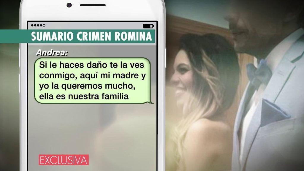 La conversación entre Raúl y la mejor amiga de Romina