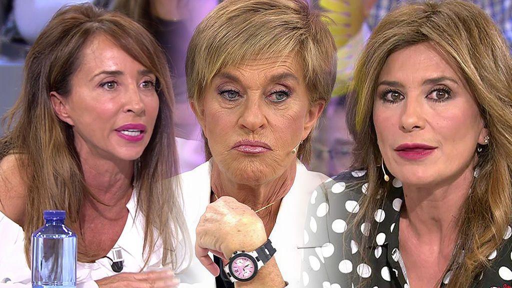 Una amistad (casi) rota: lo que ha provocado el distancimiento de Chelo Gª Cortés y sus amigas, Gema López y María Patiño