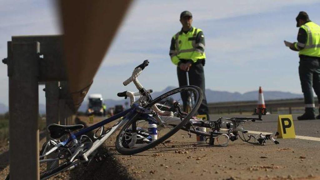 Fallece un ciclista tras ser atropellado por un camión en la provincia de Zamora