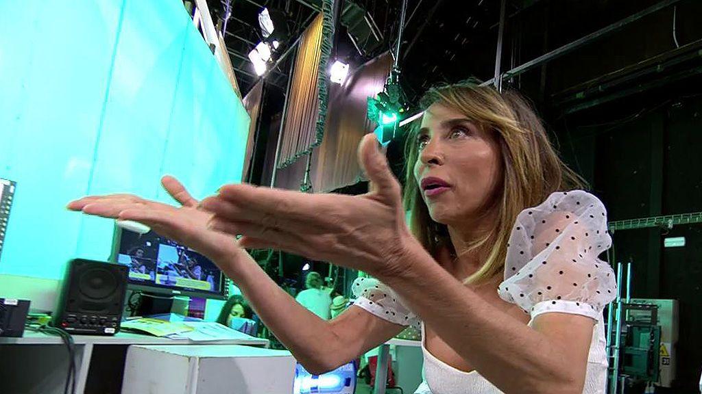 """María Patiño se indigna con un comentario de Antonio Montero: """"Tienes una mente perversa"""""""