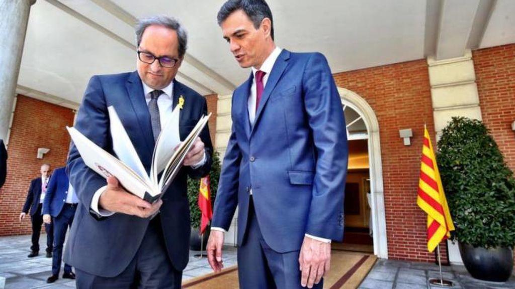 Torra avisa que votarán no , si Sánchez  no asume el referéndum