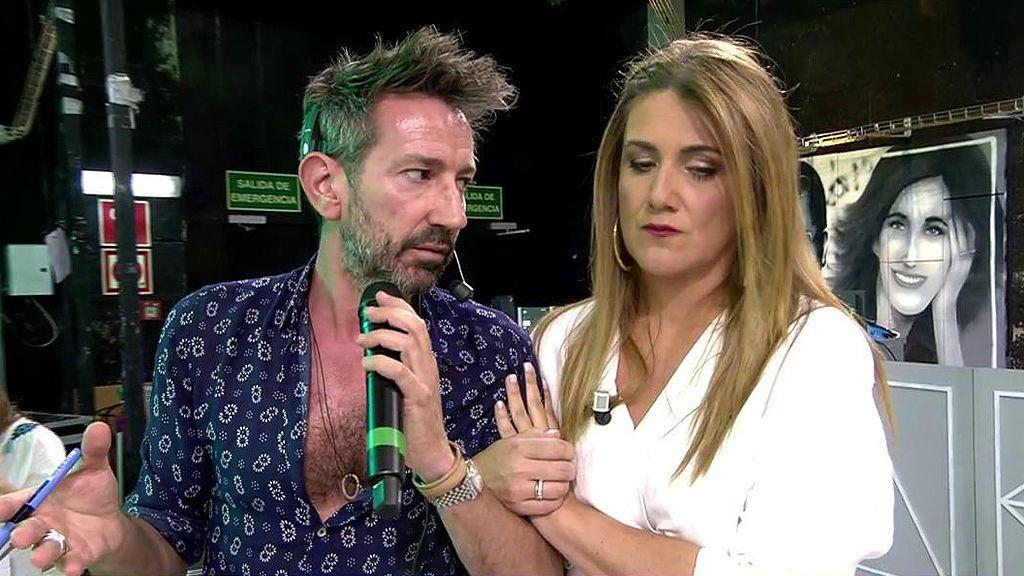 El cabreo de David Valldeperas con Chelo Gª Cortés