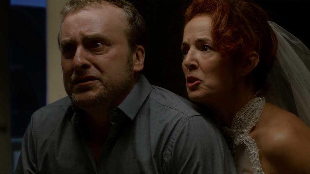 El cara a cara de Pedro y Elvira