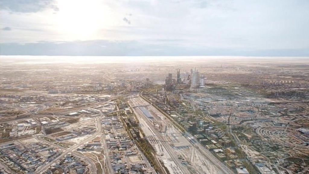 EuropaPress_2244940_Infografía_sobre_las_características_urbanísticas_del_proyecto_Madrid_Nuevo_Norte