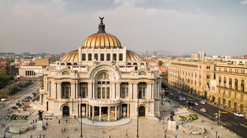 Ciudad de México se hunde hasta 12 centímetros cada año
