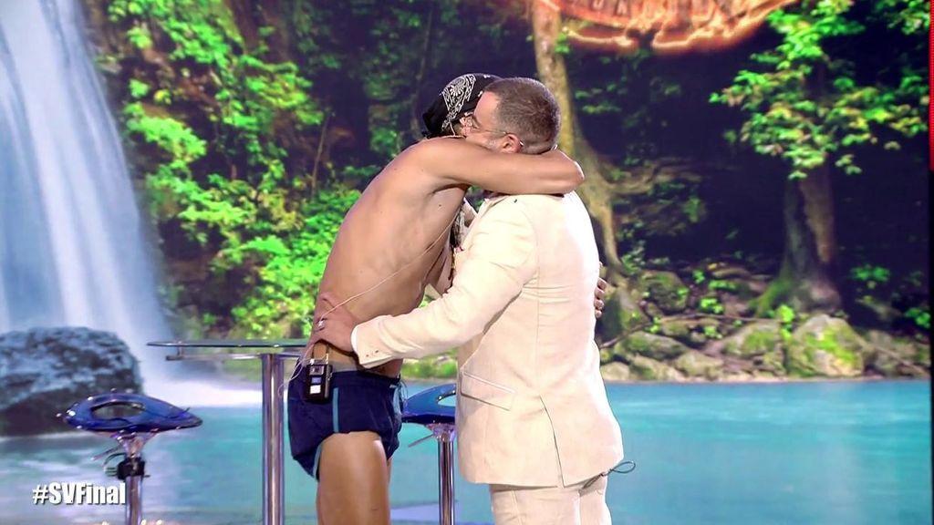 Fabio se encuentra con Jorge Javier por primera vez