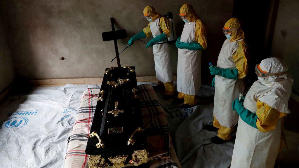 La OMS alerta sobre el brote de ébola en el Congo