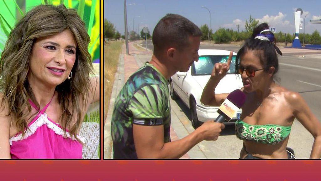 Los ataques (en bikini) de Mayte Galdeano a Gema López