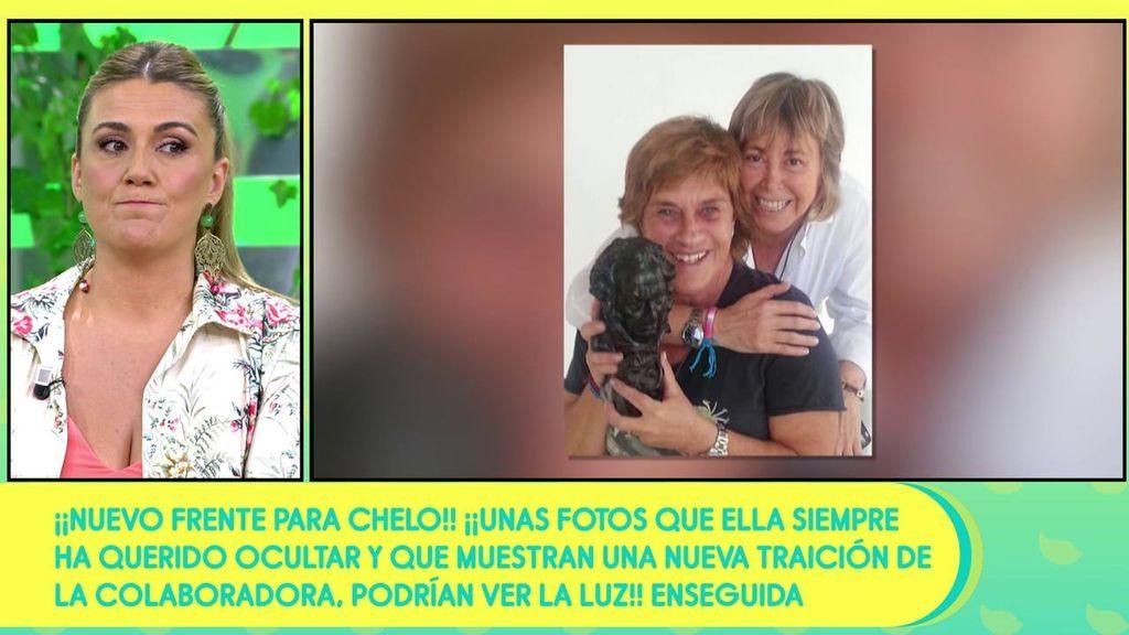 """Existen unas fotos """"muy comprometidas"""" que ni Chelo Gª Cortés ni su mujer quieren que veamos, según Carlota Corredera"""