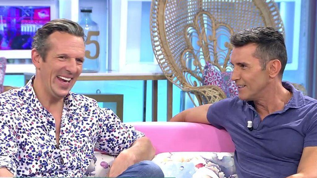 Jesús Vázquez promociona su nuevo programa 'Me quedo contigo'