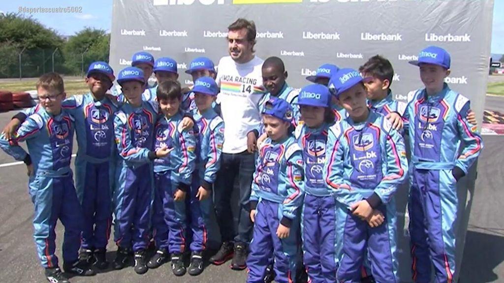 Fernando Alonso descarta la Fórmula 1