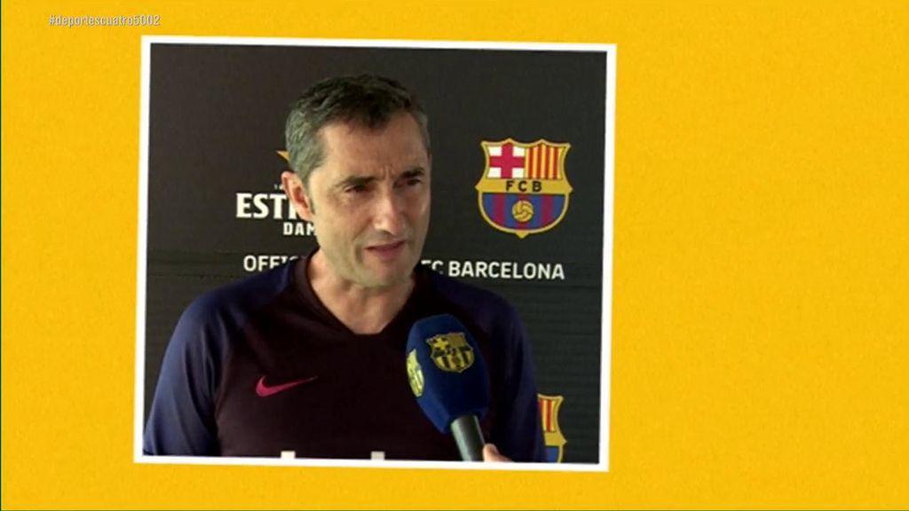 Valverde deja en duda el papel de De Jong la próxima temporada en el Barça