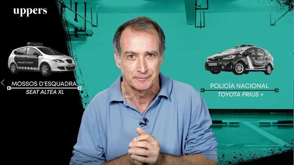 Comparamos el coche de la Policía Nacional y el de los Mossos d'Esquadra