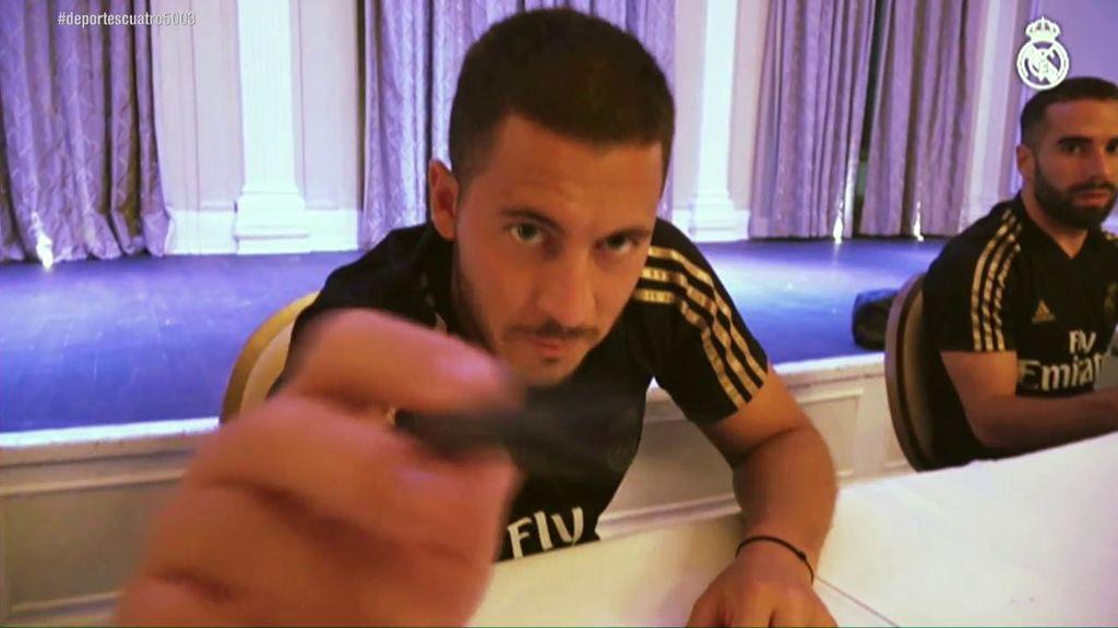 """El fichaje de Hazard devuelve la ilusión a los madridistas: """"Es el mejor jugador del mundo"""""""