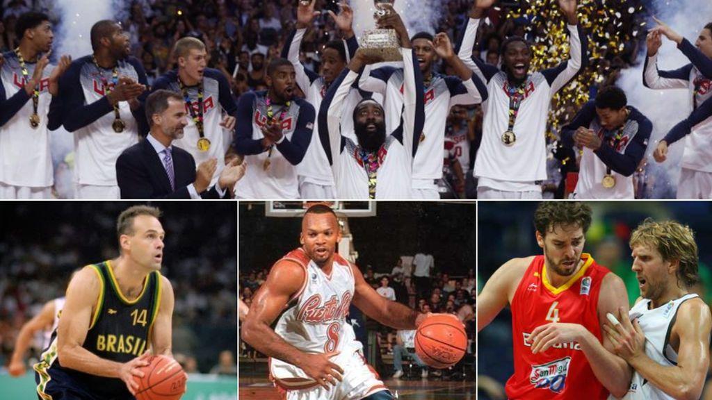 Los récords históricos de la Copa del Mundo FIBA: De los máximos anotadores, a las selecciones con más medallas